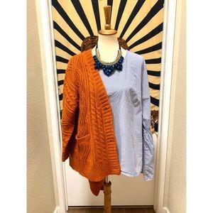 Amazing peplum sleeve minimalist style blouse